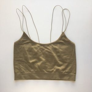Urban Outfitters Markie Seamless Cropped Cami